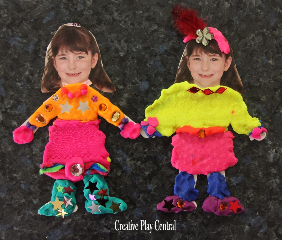 Picture 147 play dough dress ups by S