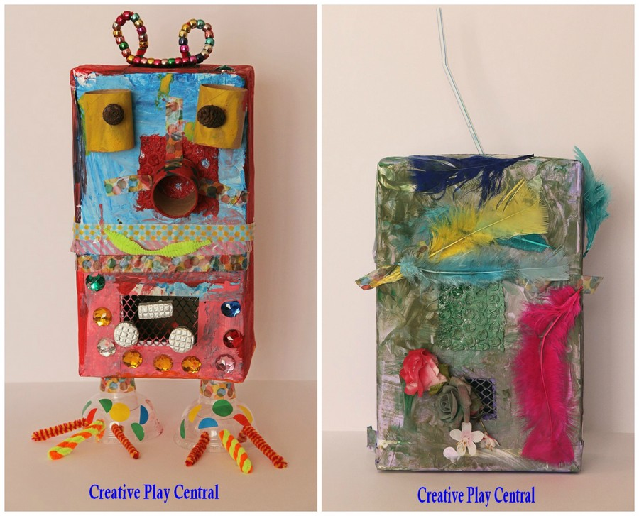 Mesh box creations collage for blog