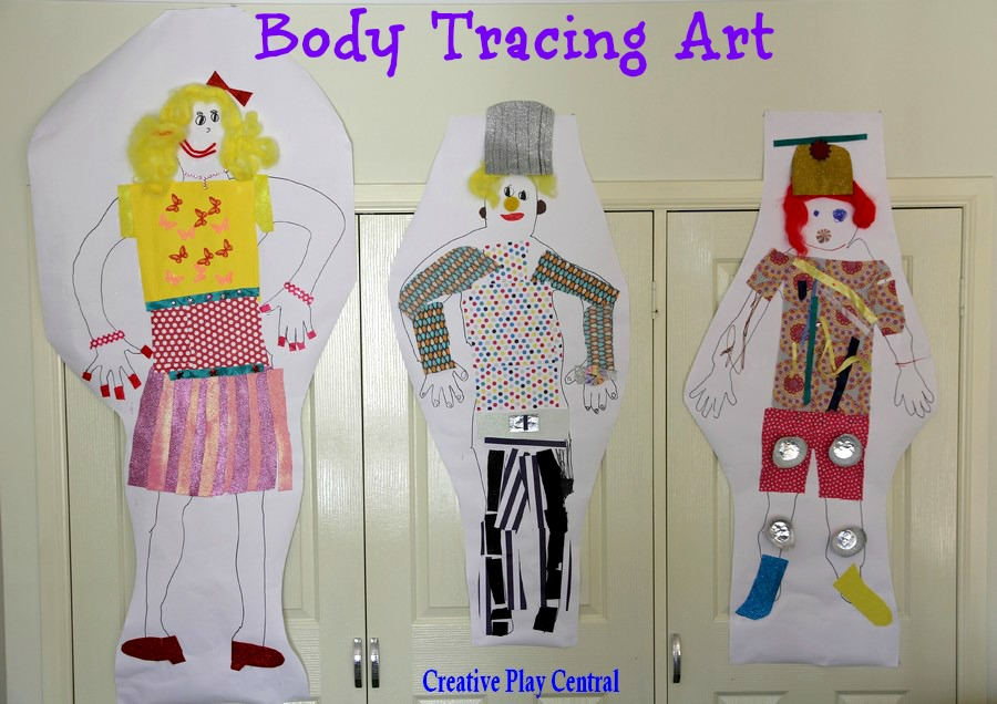 Body Tracing Art