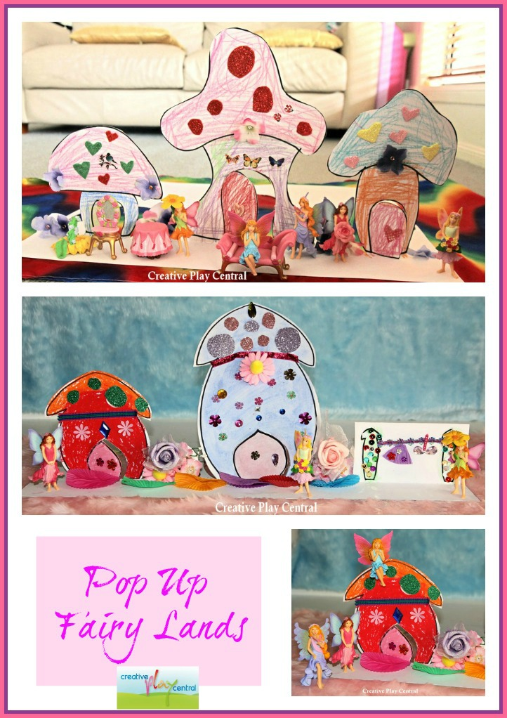 Pop up fairy lands Collage