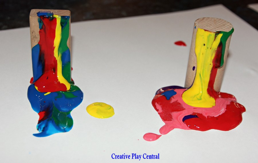 Picture 34 creating drip art with blocks