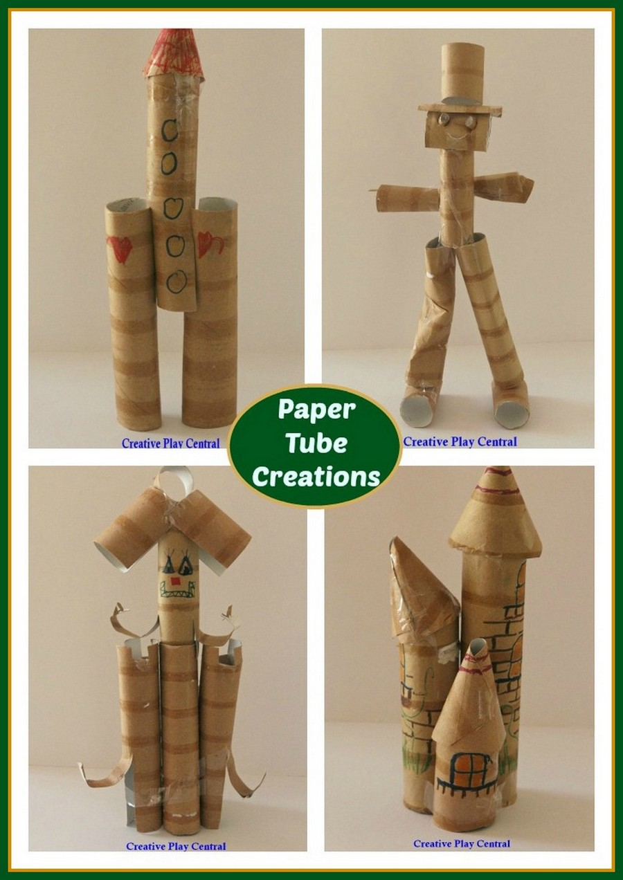 Paper Tube Creations Collage for blog