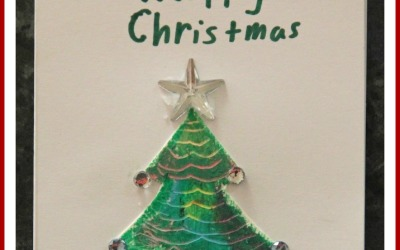 Scratch Art Christmas Tree Cards